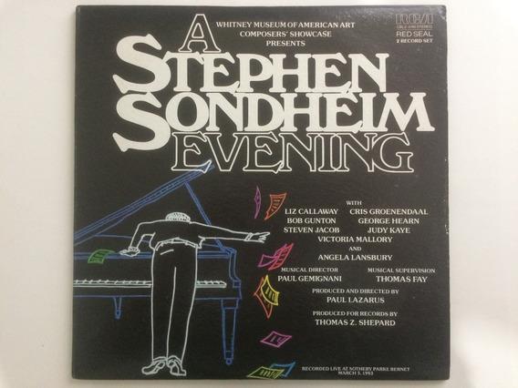 Lp Duplo A Stephen Sondheim Evening - Importado Usa