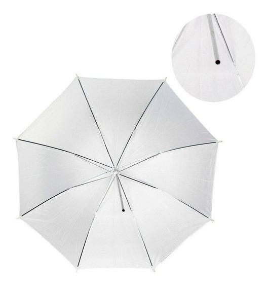 Sombrinha Difusora Branca 80cm Para Video Ou Foto Nf