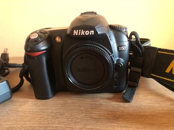 Nikon D50 - Impecável Estado De Conservação! Somente O Corpo