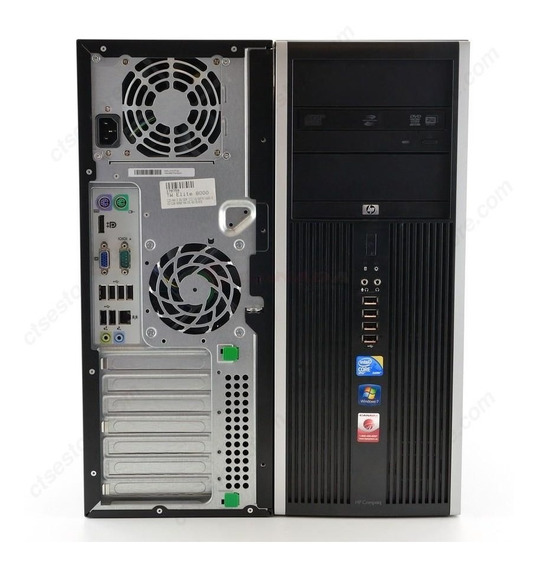 Cpu Hp Compaq 8000 Torre Core 2 Duo 4gb Ddr3 Hd 320