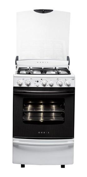 Cocina Orbis 978bc3 Serie 3 Blanca Grill 55cm