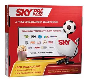 Sky Pré-pago Flex Hd + Recarga Smart + Premiere + Hdmi