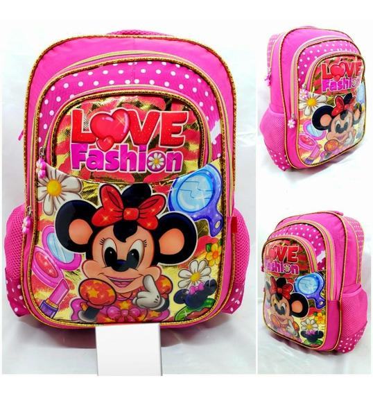 Mochila Escolar Infantil Reforçada Grande Love Fashion M3512