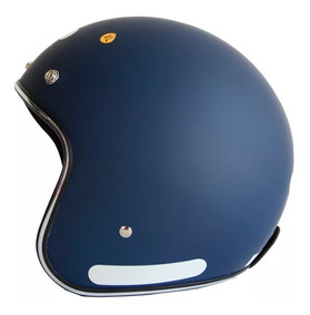 Capacete Moto Zeus 380h Matt Azul