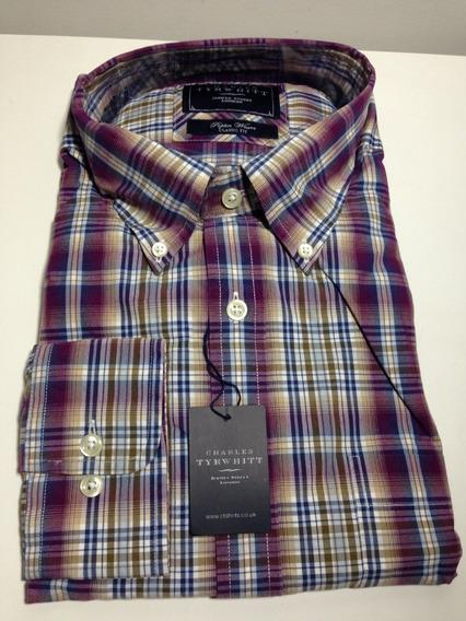Camisa Charles Tyrwhitt L Classic Fit