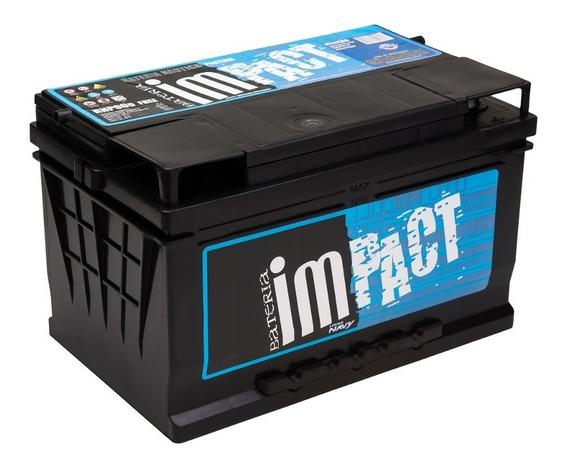 Bateria Impact Rnp 90 90ah Livre De Manutenção Carro E Barco