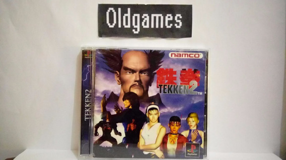 Tekken 2 - Original Japonês - Ps1