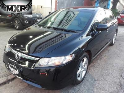 Honda New Civic Lxs 1.8 Aut Lindo Carro 4 Pneus Semi Novos