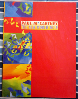 Paul Mc Cartney . Revista New World Tour Impecable Regalo!