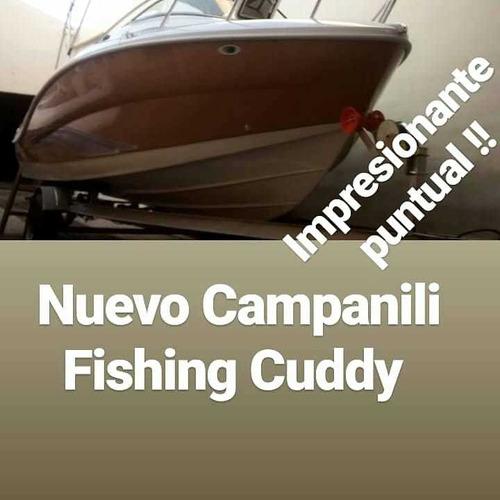 Campanili Fishing Cuddy Mercury 90 Hp 4 Tiempos