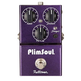 Pedal Overdrive/distortion Fulltone Plimsoul Usa