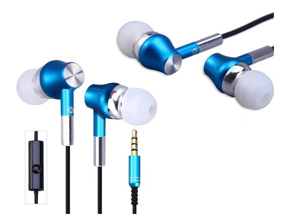 Fone Ouvido Abingo S100i Com Microfone Super Premium In-ear