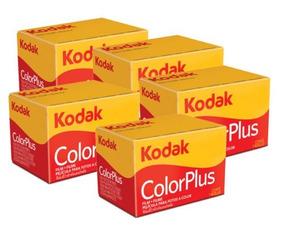 5 X Kodak Colorplus 200 35mm 24exp
