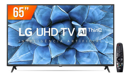 Imagem 1 de 4 de Smart Tv Led 65  Ultra Hd 4k LG 65un7310 4 Hdmi 2 Usb