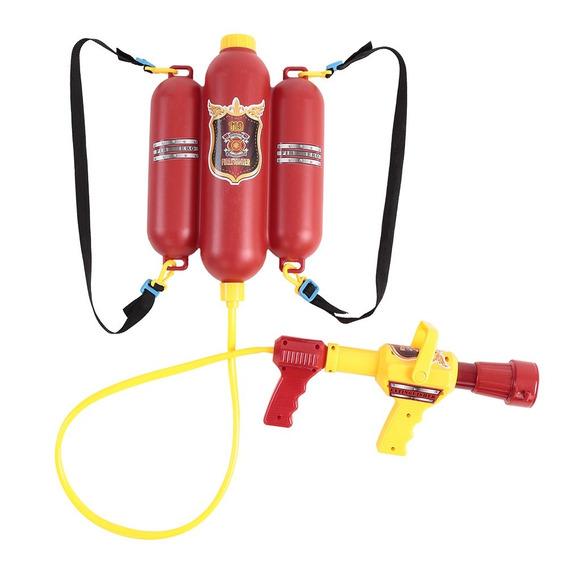Bombeiro Mochila Água Spraying Pistola Brinquedo Para Crianç