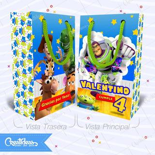 Buzz Lightyear Toy Story Bolsitas Personalizadas Pack X30