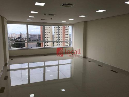Sala Para Alugar, 46 M² Por R$ 1.600,00/mês - Nova Redentora - São José Do Rio Preto/sp - Sa0181