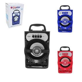 Eletronico Radio Portatil Alto Falante Usb Bluetooth Audio