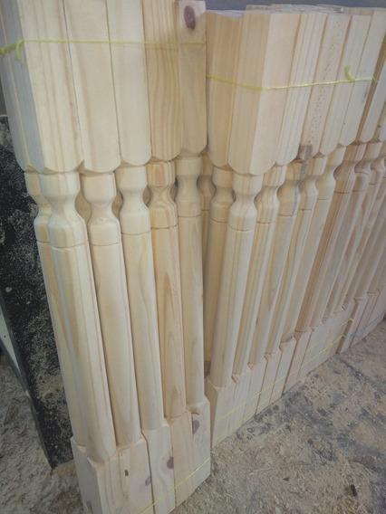 Balustres Torneados Madera Todo Para Su Baranda O Escalera