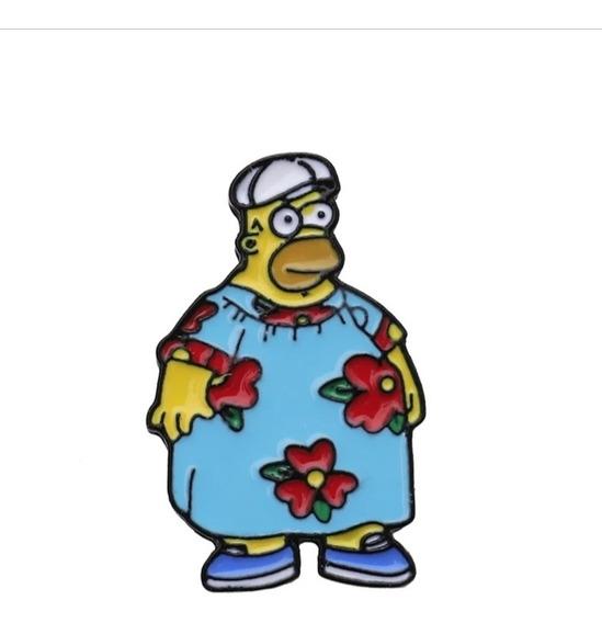 Pines Caricatura Los Simpson Homero