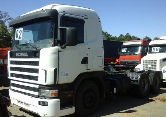 Scania R 124 360 - 6x2 - 2002 - Primeiro Caminhão