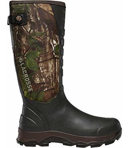 Lacrosse 4x Alpha Snake Boot-m, Realtree Xtra Green, Hombres