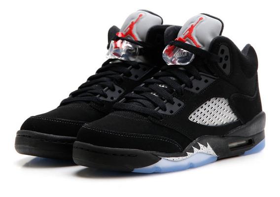 Air Jordan Retro 5 Black Metallic 2016 (gs)