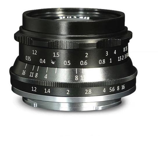 Lente 35mm F1.2 - Sony E-mount A6000 6300 6500 A7s
