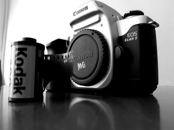 Canon Eos 50 / Ellan Ii Câmera Analógica Filme Não É Nikon