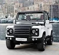 Grade Land Rover Defender Estilo Svx