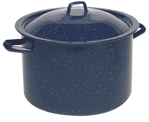Olla Esmaltada Imusa, Capacidad De 6 Cuartos, Color Azul