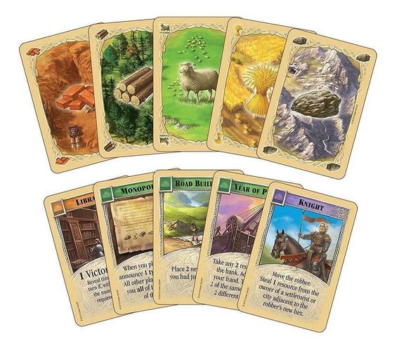 Catan 5-6 Player Extensão Tabela Conselho Jogo Cartão Divers