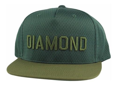 Imagem 1 de 3 de Bone Diamond Supply Jackson Snapback Verde Original P,entreg