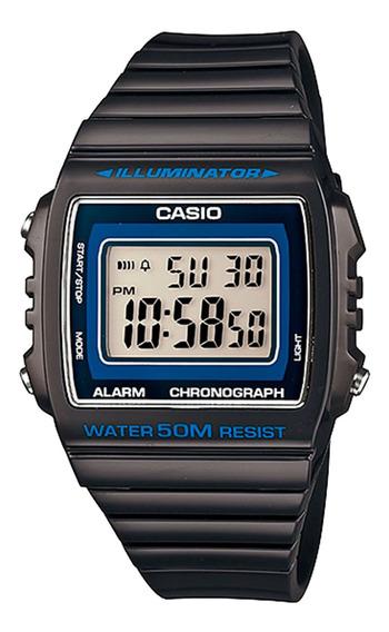 Relógio Casio W-215h-1avdf Masculino Preto - Refinado