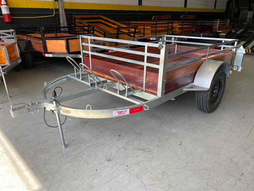 Carretinha Carga E 03 Motos 2.00 X 1.40 - Carreta Mista