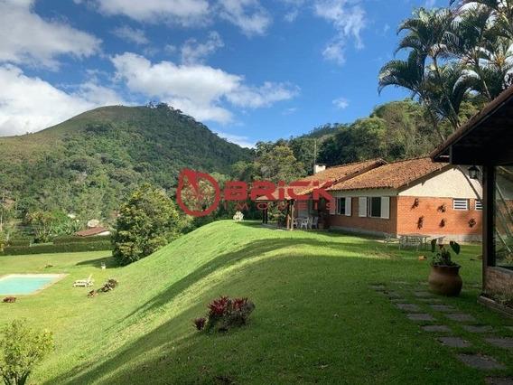 Ótima Casa Linear Com 3 Quartos Sendo 2 Suíte E Com Casa De Caseiro Em Vargem Grande - St00145 - 34672621