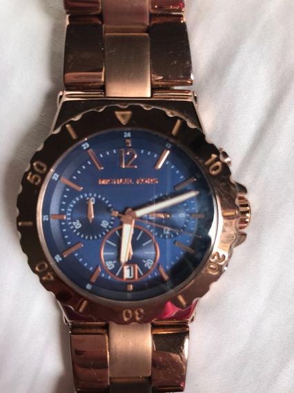 Relógio Michael Kors Rosé Gold Pouquíssimo Uso