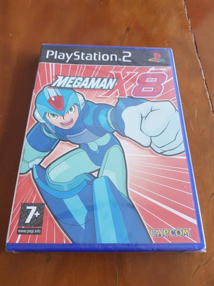 Mega Man X8 Ps2 Playstation 2 Europeu Original Lacrado