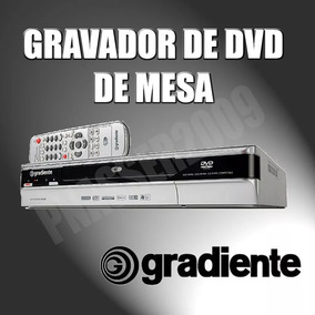 Gravador De Dvd De Mesa Gradiente Dr850 - Nacional / Pal-m
