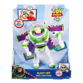 Toy Story 4 - Buzz Vuelo Espacial - Figura Parlante - Disney