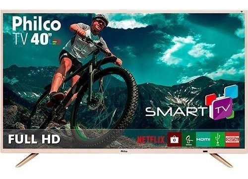 Smart Tv Led 40 Philco Ptv40e21dswnc Full Hd Com Conversor