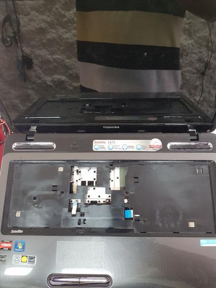Carcaca Toshiba Satellite L675 - Tampa - Superio - Inferior