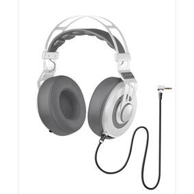 Headphone Premium Branco Wired Large Ph238