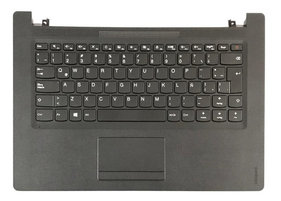 Carcaça Base Superior Teclado Notebook Lenovo Ideapad 110 14