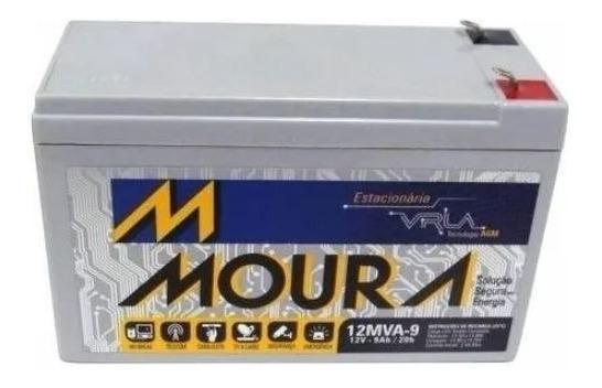 Bateria Moura Nobreak 12v 9ah No-break Vrla Alarme