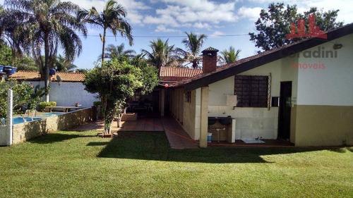Chácara Residencial À Venda, Recanto Solar, Nova Odessa. - Ch0061