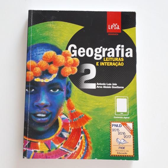 Livro Geografia 2 Leituras E Interação Leya Ensino Médio C2