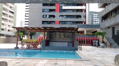 Apartamento Em Boa Viagem, Recife/pe De 60m² 2 Quartos À Venda Por R$ 300.000,00 Ou Para Locação R$ 2.700,00/mes - Ap126579lr