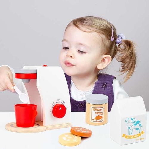 Imagen 1 de 5 de Cocinita De Madera Estilo Montessori. Juguete