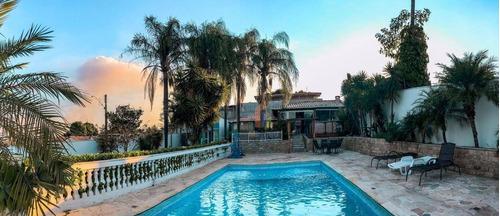 Chácara Com 5 Dormitórios À Venda, 1200 M² Por R$ 1.500.000,00 - Condomínio Chácara Grota Azul - Hortolândia/sp - Ch0059